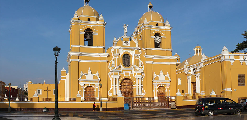 Cathedral in Trujillo Peru